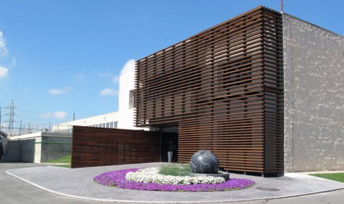 Eficiencia energética centro visitas CCAAIT