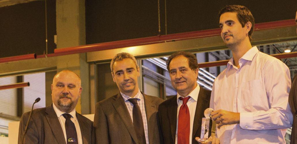 Entrega primer premio nacional de domótica 2013 y 2014