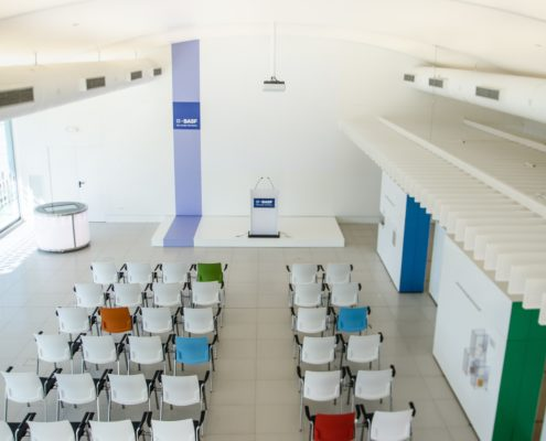 Eficiencia energética centro visitas BASF