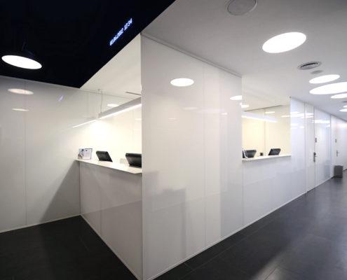 Iluminación inmótica Centro médico CMRN